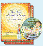 Boy Without a Name book and CD